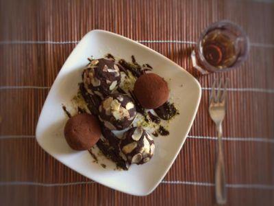 Sfere Cacao E Brandy vegan