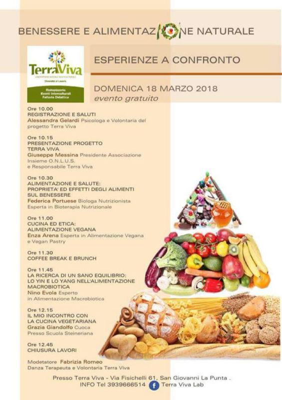 Benessere e alimentazione naturale: esperienze a confronto