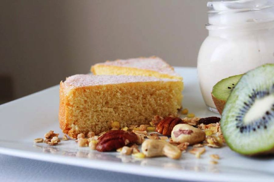 Cake Cocco E Yogurt