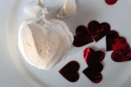 Meringata Vegan di San Valentino