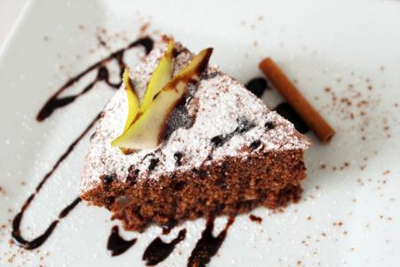 Torta Alle Pere Cioccolato E Noci Vegan