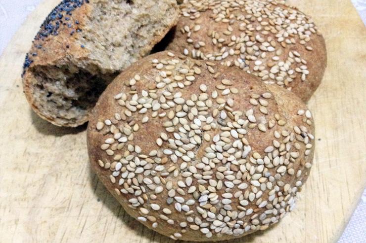 Pane di grani antichi con il lievito madre