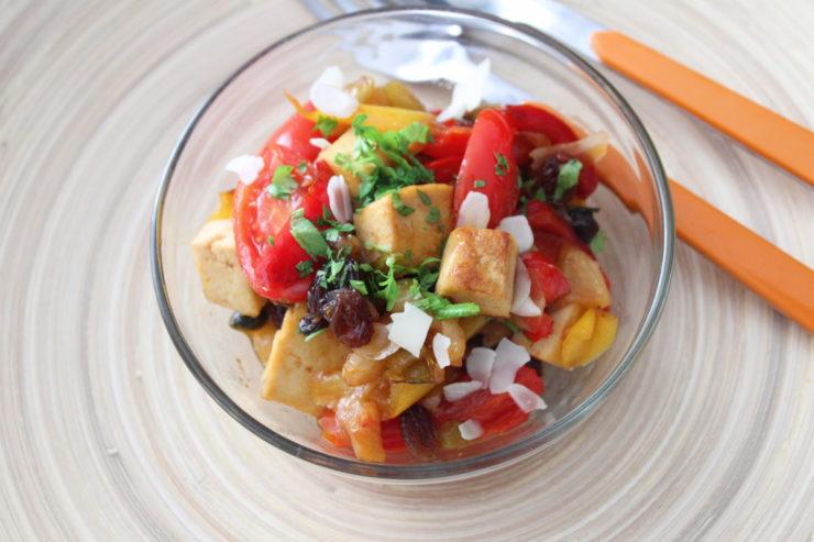 Tofu alla siciliana
