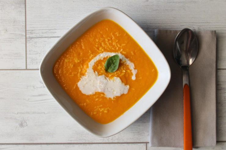 Vellutata di carote e cocco
