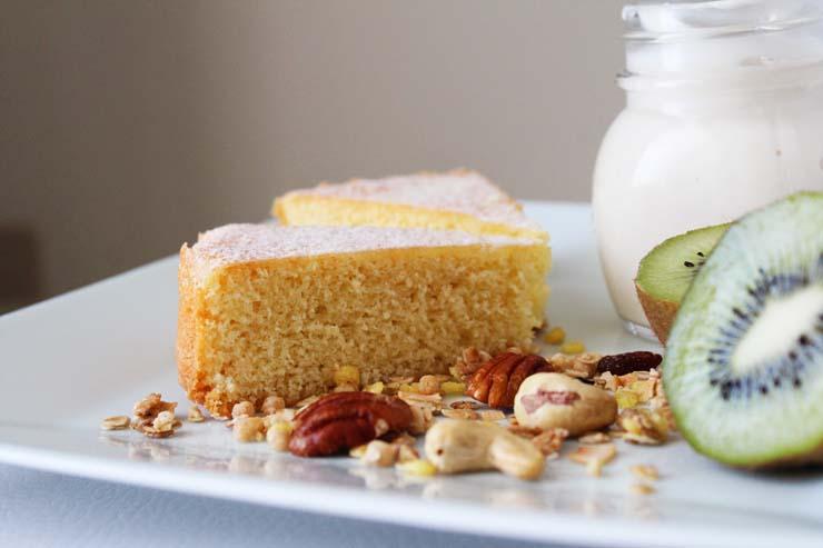 Cake al cocco e yogurt