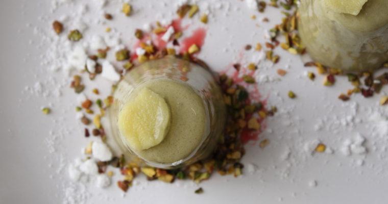 Mousse al pistacchio speziata
