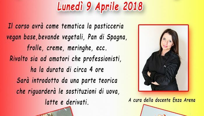 Open day di pasticceria vegan