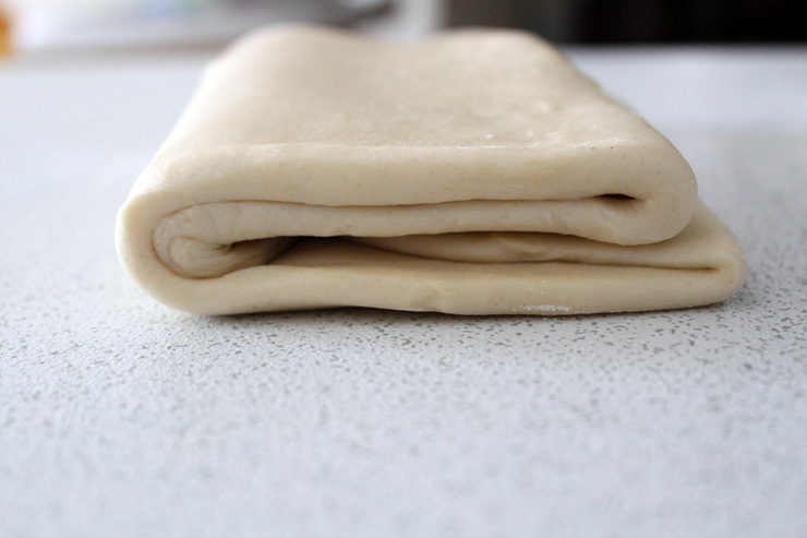 Pasta sfoglia senza burro