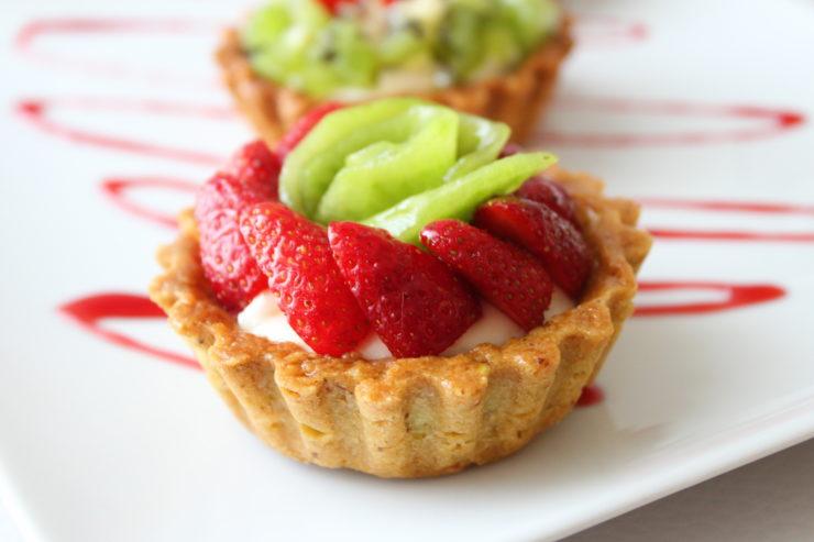 Tarte aux fruit senza burro e uova