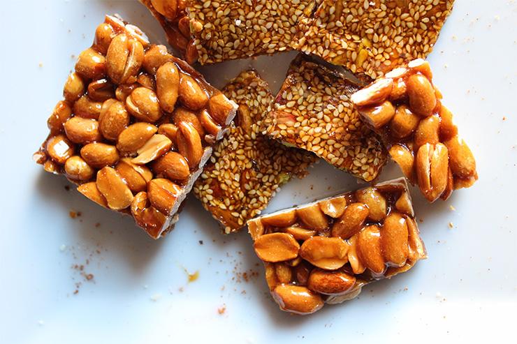 Torrone di arachidi e sesamo